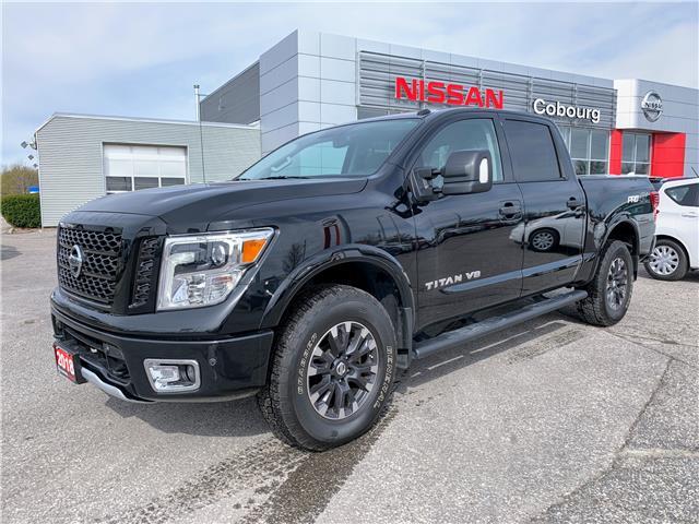 2018 Nissan Titan PRO-4X 1N6AA1E56JN542006 CJN542006L in Cobourg