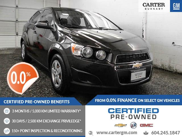 2015 Chevrolet Sonic LT Auto (Stk: T0-68211) in Burnaby - Image 1 of 24