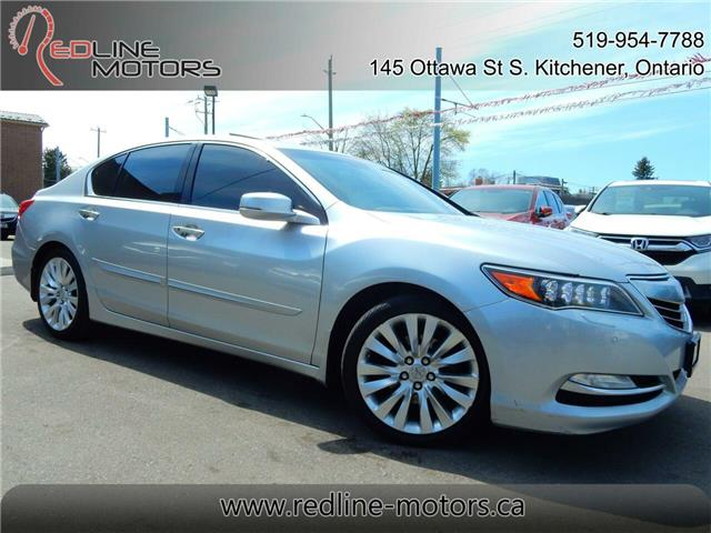 2014 Acura RLX Base (Stk: JH4KC1) in Kitchener - Image 1 of 26
