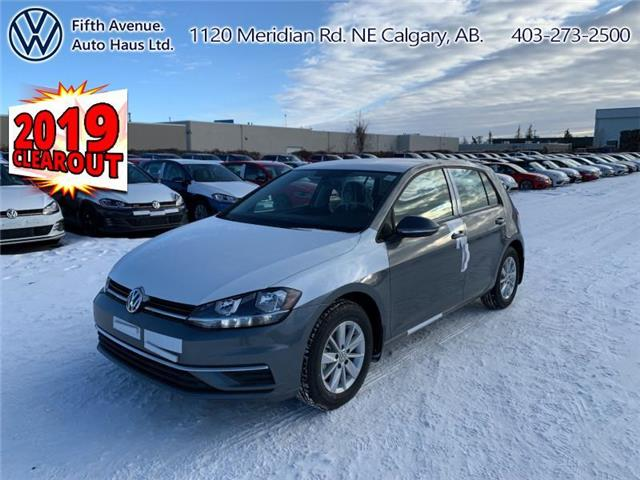 2019 Volkswagen Golf 1.4 TSI Comfortline (Stk: 19539) in Calgary - Image 1 of 23