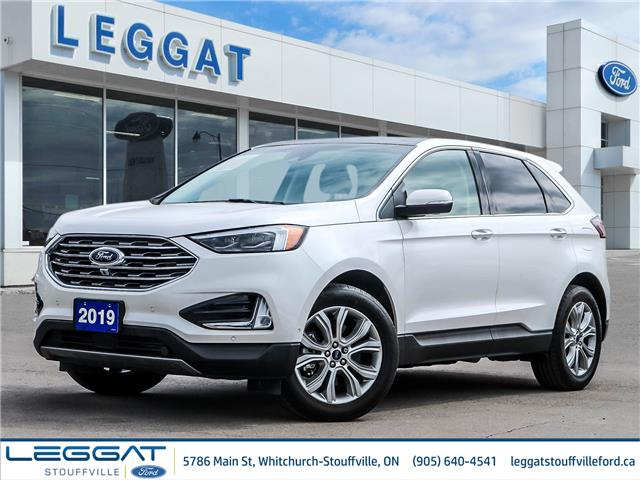 2019 Ford Edge Titanium (Stk: U5369) in Stouffville - Image 1 of 30