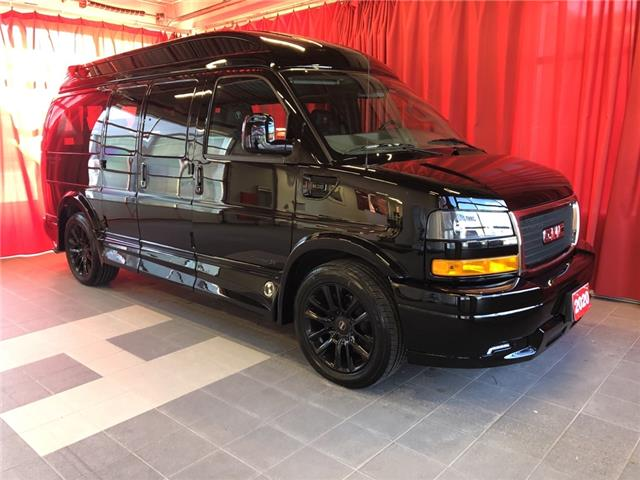 2020 Gmc Savana 2500 4x4 7 Passenger Black Leather Seats Entertainment Features At 732 B W For Sale In Listowel Larry Hudson Chevrolet Buick Gmc Inc
