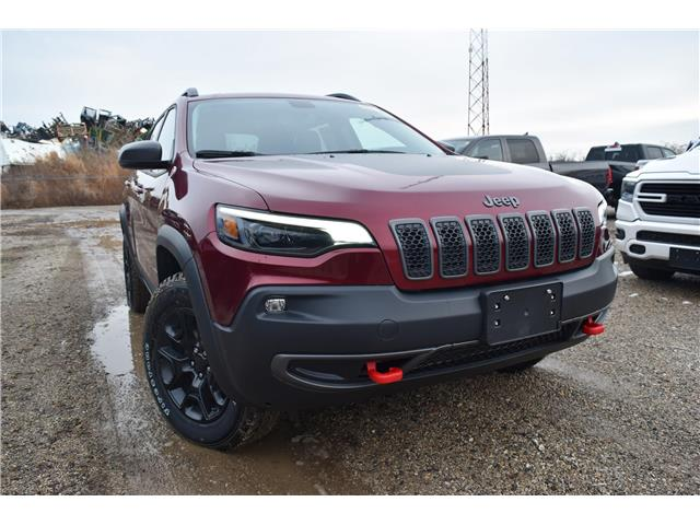 2020 Jeep Cherokee Trailhawk (Stk: 94154) in St. Thomas - Image 1 of 30