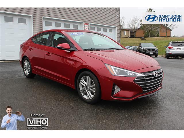 2020 Hyundai Elantra Preferred w/Sun & Safety Package (Stk: U2616) in Saint John - Image 1 of 20