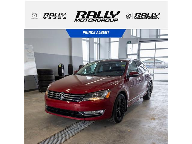 2015 Volkswagen Passat 1.8 TSI Highline (Stk: 1961A) in Prince Albert - Image 1 of 14