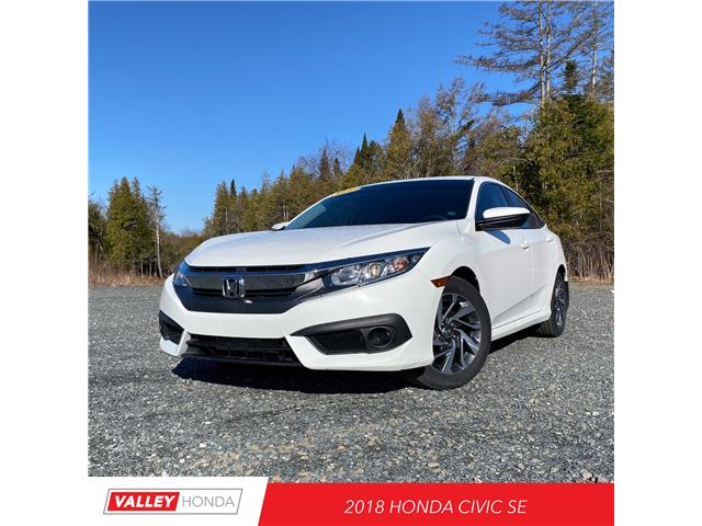 2018 Honda Civic SE (Stk: U5524A) in Woodstock - Image 1 of 4