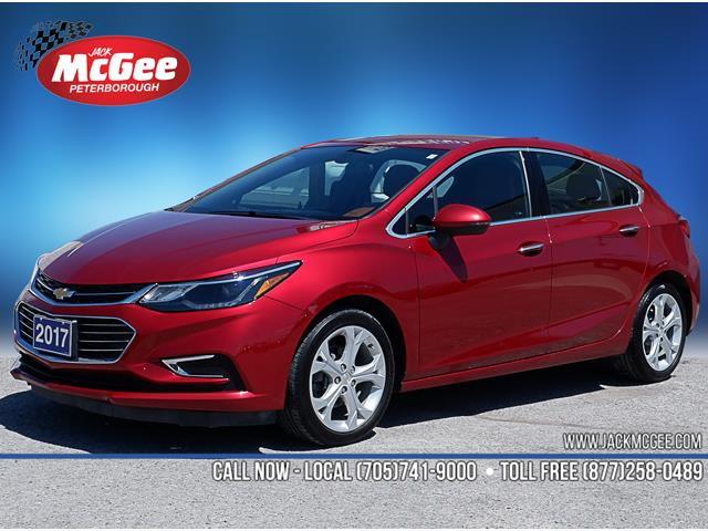 2017 Chevrolet Cruze Hatch Premier Auto (Stk: 19747A) in Peterborough - Image 1 of 19