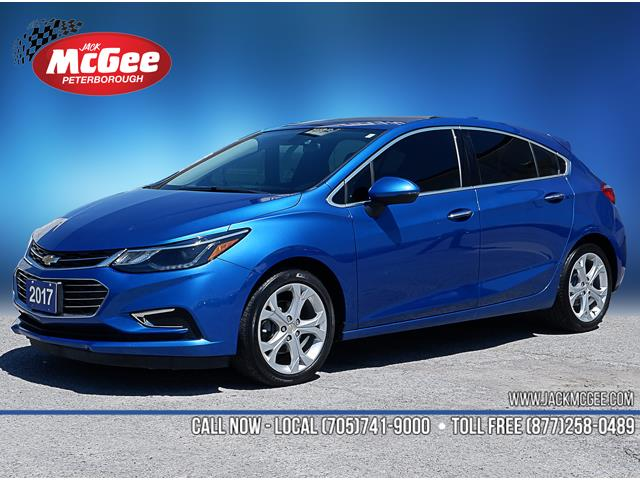 2017 Chevrolet Cruze Hatch Premier Auto (Stk: 19809A) in Peterborough - Image 1 of 18