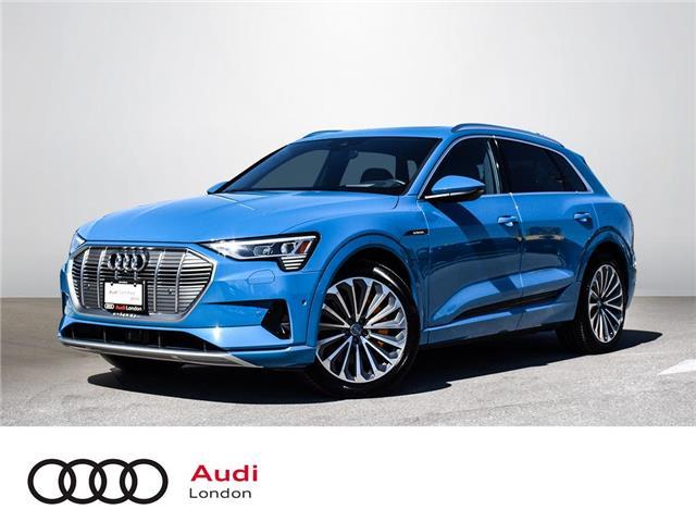 2019 Audi e-tron 55 Technik (Stk: Q10878) in London - Image 1 of 25
