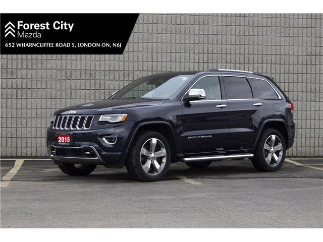 2015 Jeep Grand Cherokee Overland (Stk: MW0109) in London - Image 1 of 22