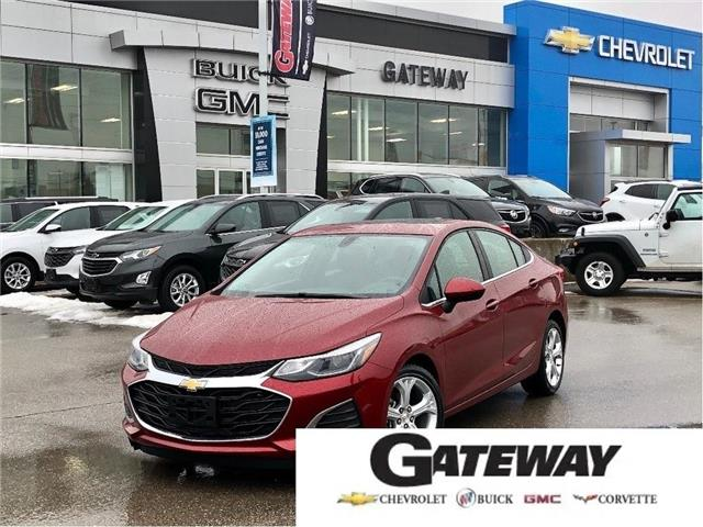 2019 Chevrolet Cruze Premier| LEATHER SEATS | REMOTE START | SUNROOF | (Stk: 118379A) in BRAMPTON - Image 1 of 21