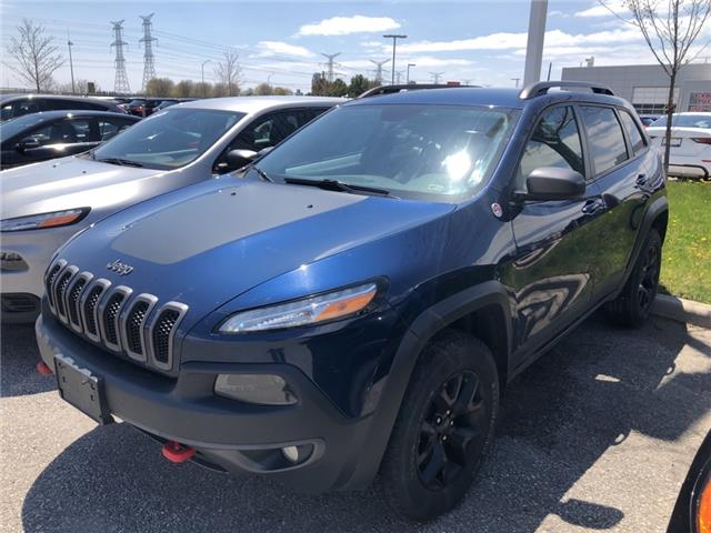 2018 Jeep Cherokee Trailhawk (Stk: 19995A) in Clarington - Image 1 of 1