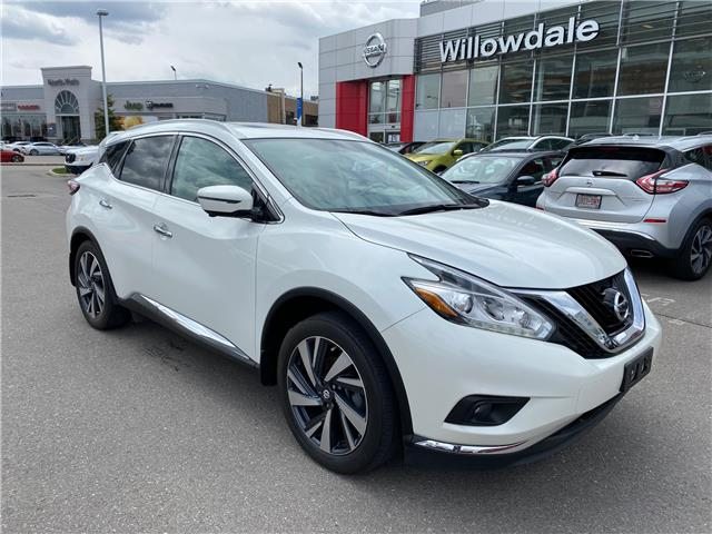 2016 Nissan Murano Platinum (Stk: H9317A) in Thornhill - Image 1 of 11