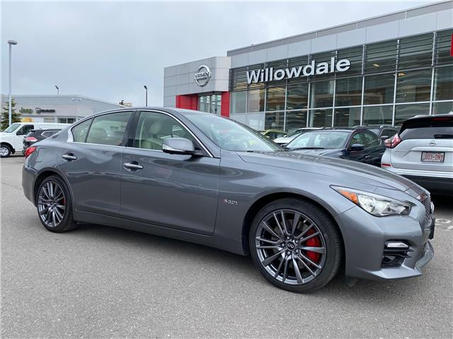 2017 Infiniti Q50 3.0t Red Sport 400 (Stk: H9271A) in Thornhill - Image 1 of 12