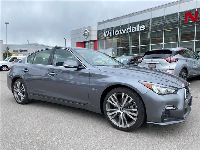 2019 Infiniti Q50 3.0t Signature Edition (Stk: H8570A) in Thornhill - Image 1 of 12