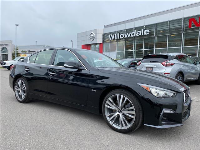 2019 Infiniti Q50 3.0t Signature Edition (Stk: H8631A) in Thornhill - Image 1 of 12