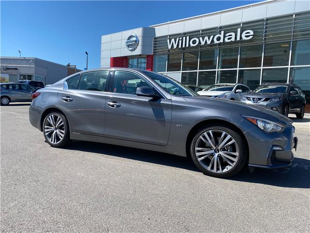 2019 Infiniti Q50 3.0t Signature Edition (Stk: H8572A) in Thornhill - Image 1 of 12