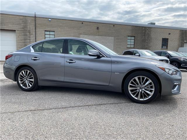 2018 Infiniti Q50 2.0t LUXE (Stk: H7897A) in Thornhill - Image 1 of 10