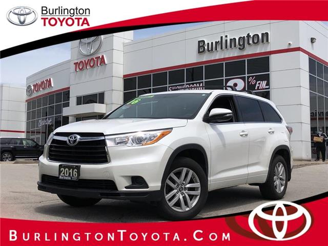 2016 Toyota Highlander LE (Stk: U10830) in Burlington - Image 1 of 18