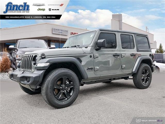 2020 Jeep Wrangler Unlimited Sport (Stk: 98149) in London - Image 1 of 26
