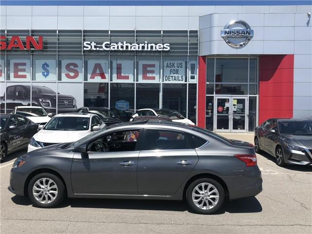 2019 Nissan Sentra  (Stk: P2644) in St. Catharines - Image 1 of 10