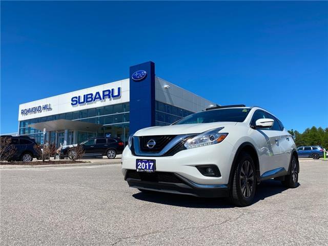 2017 Nissan Murano SL 5N1AZ2MH4HN159782 T34082 in RICHMOND HILL