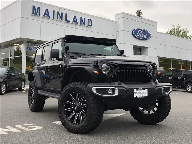2019 Jeep Wrangler Unlimited Sahara (Stk: 9F19122A) in Vancouver - Image 1 of 30