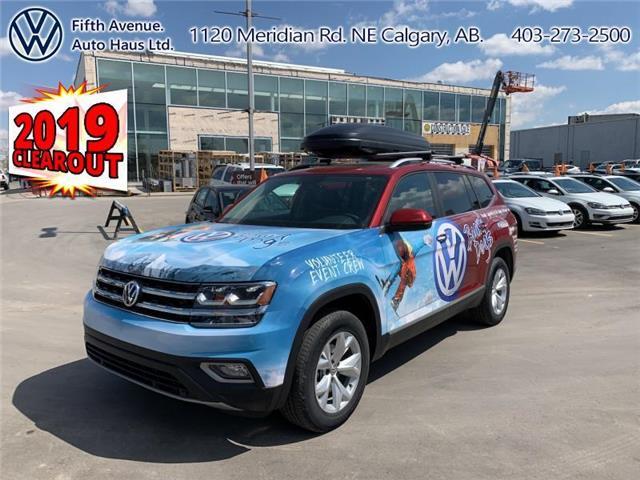 2019 Volkswagen Atlas 3.6 FSI Highline (Stk: 19124) in Calgary - Image 1 of 30