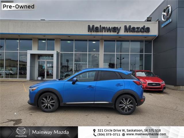 2016 Mazda CX-3 GT (Stk: M20053A) in Saskatoon - Image 1 of 27
