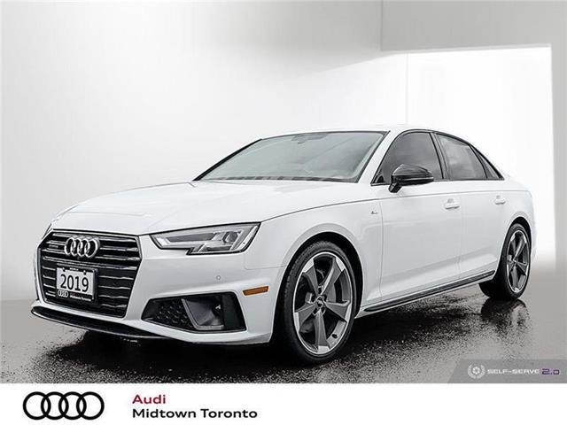 2019 Audi A4 45 Progressiv (Stk: P7882) in Toronto - Image 1 of 22