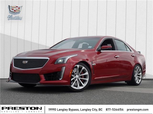 2017 Cadillac CTS-V Base (Stk: X29562) in Langley City - Image 1 of 26