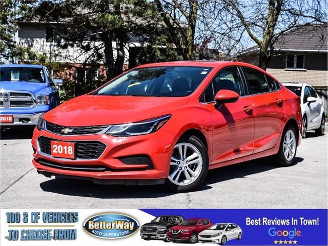 2018 Chevrolet Cruze LT|Sunroof|Backup CAM|Bluetooth|Heated Seats (Stk: 5610) in Stoney Creek - Image 1 of 28