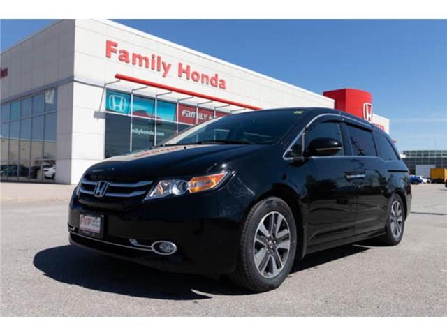 2016 Honda Odyssey 4dr Wgn Touring | LTHR HEAT SEATS | BACK UP CAM (Stk: 501467T) in Brampton - Image 1 of 15