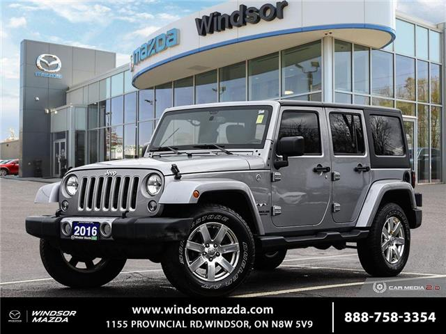 2016 Jeep Wrangler Unlimited Sahara (Stk: TR8832) in Windsor - Image 1 of 23