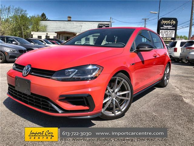 2018 Volkswagen Golf R 2.0 TSI (Stk: 214613) in Ottawa - Image 1 of 24