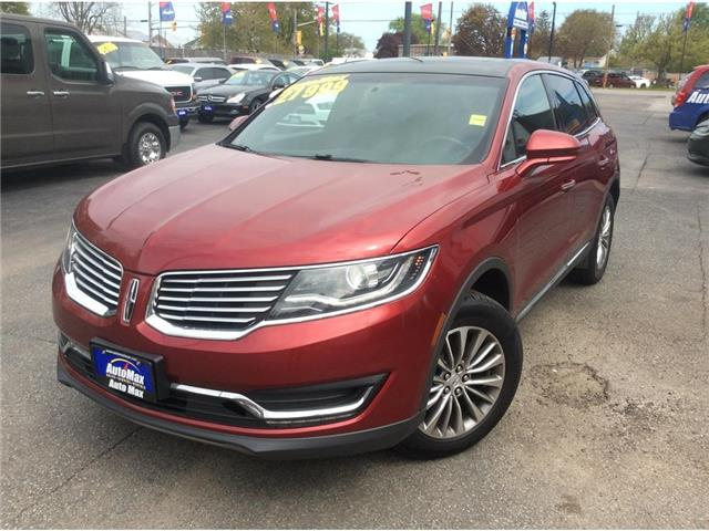 2016 Lincoln MKX Select (Stk: A8894) in Sarnia - Image 1 of 30