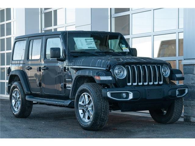 2020 Jeep Wrangler Unlimited Sahara (Stk: 43191) in Innisfil - Image 1 of 17