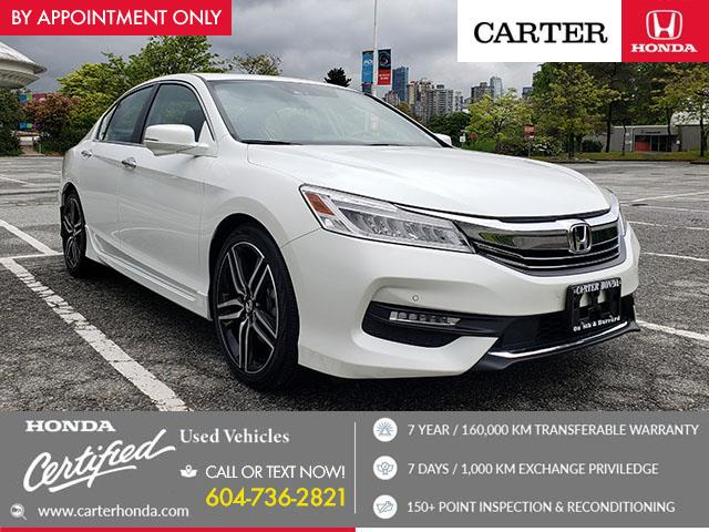 2017 Honda Accord Touring (Stk: B25670) in Vancouver - Image 1 of 27