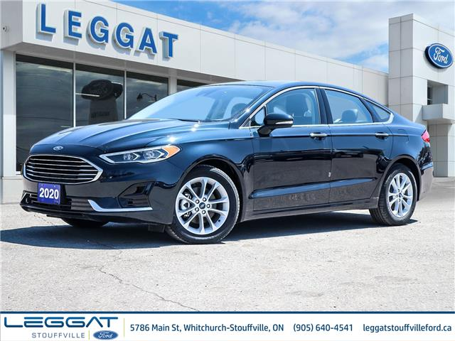 2020 Ford Fusion Hybrid SEL (Stk: 20-07-007) in Stouffville - Image 1 of 22