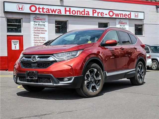 2019 Honda CR-V Touring (Stk: H82610) in Ottawa - Image 1 of 30