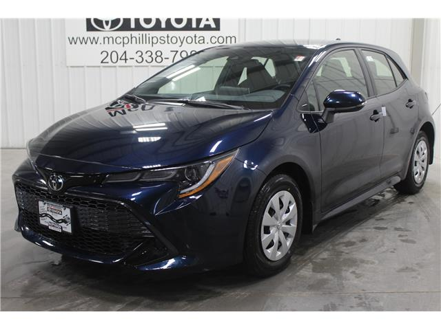 2020 Toyota Corolla Hatchback Base (Stk: 3098371) in Winnipeg - Image 1 of 19