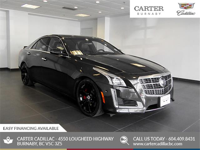 2014 Cadillac CTS 3.6L Twin Turbo Vsport (Stk: C0-62771) in Burnaby - Image 1 of 25