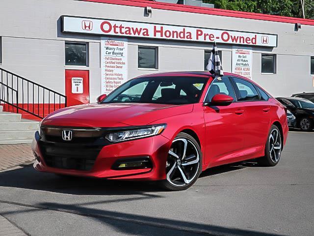 2018 Honda Accord Sport 2.0T (Stk: H82860) in Ottawa - Image 1 of 28