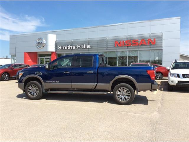 2019 Nissan Titan XD Platinum Reserve Gas (Stk: P2050) in Smiths Falls - Image 1 of 12