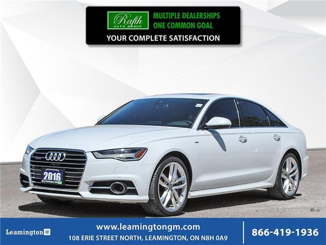 2016 Audi A6 3.0T Progressiv (Stk: 20-406A) in Leamington - Image 1 of 30