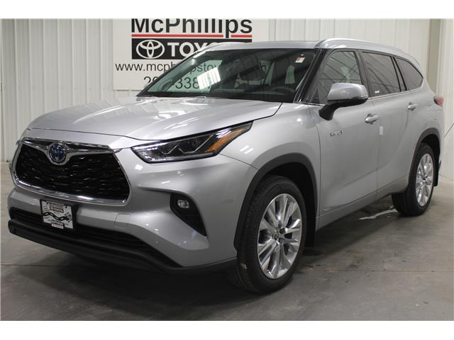 2020 Toyota Highlander Hybrid Limited (Stk: S002652) in Winnipeg - Image 1 of 25