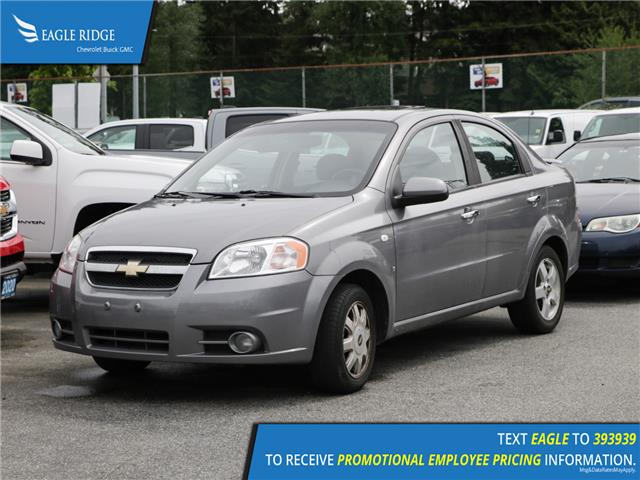 2007 Chevrolet Aveo LT (Stk: 071580) in Coquitlam - Image 1 of 4