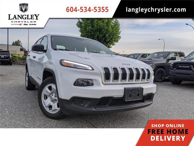 2015 Jeep Cherokee Sport (Stk: L289471A) in Surrey - Image 1 of 22