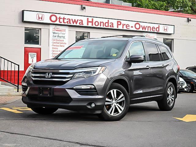 2016 Honda Pilot EX-L Navi (Stk: H81550) in Ottawa - Image 1 of 30