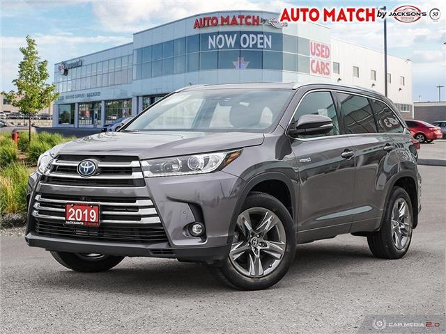 2019 Toyota Highlander Hybrid Limited 5TDDGRFH4KS074293 U4293A in Barrie